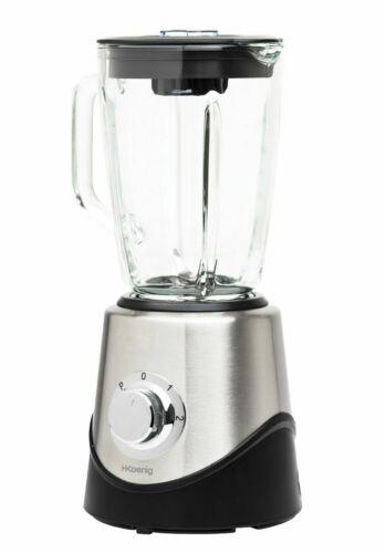 Kraftvoller 500 Watt Stand-Mixer H.Koenig 1,5 Liter Glas-Kanne Smoothie-Maker
