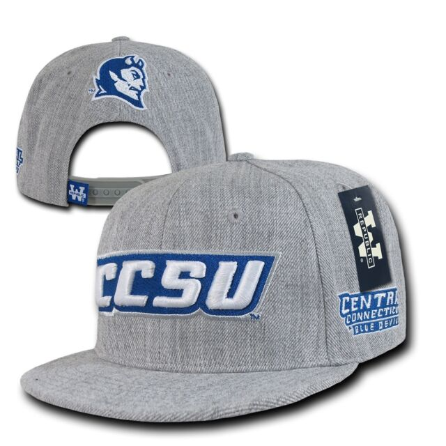 ... trucker hat f6591 cbcf3 coupon for central connecticut state blue  devils ccsu flat bill snapback baseball cap hat 7d33e d3b40 ... 11fb04381866