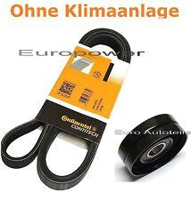 Keilrippenriemen + Spannrolle OPEL ASTRA F Cabriolet Caravan CC 1.4 -1.6  Neu