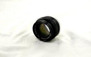 Minolta 55mm f/1.9 PF Minolta MD-Mount Manual Focus Prime Lens