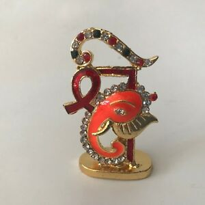 Details About Lord Ganesha Idol For Car Dashboard Home Office Perfect Gift Item
