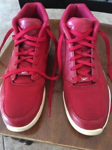 fa2b1207418e Nike Air Entertainer 819854-600 Red Athletic Shoes Men Size 13 Rare ...