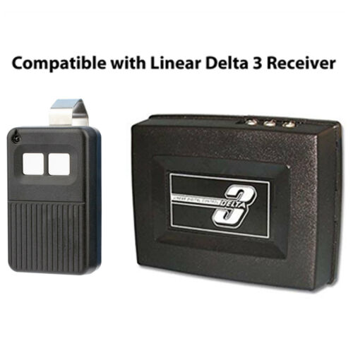 For Linear Delta 3 DT-2A DNT00017A 2-channel Visor Gate or Garage Door Opener