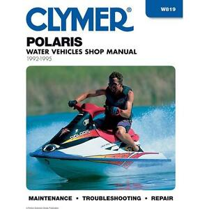 clymer w819 repair manual ebay rh ebay com 1994 sea doo xp service manual 1995 Sea-Doo GTX