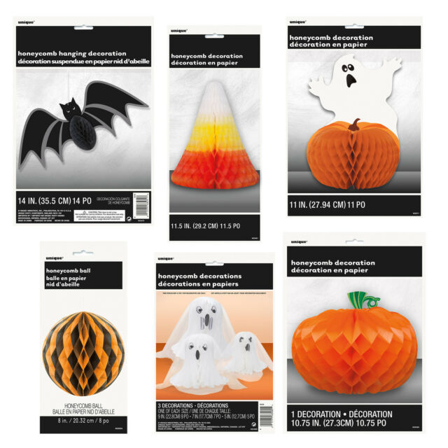 Immagine Zucca Di Halloween 94.Halloween A Nido D Ape Decorazione Tavolo Da Parete Carta Zucche