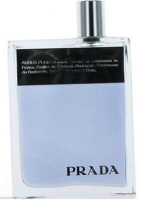 Prada Amber Pour Homme by Prada for Men EDT Cologne Spray 3.4 oz.-Tester NEW