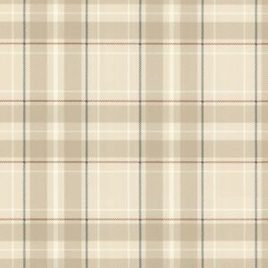 Image Is Loading Oxford Caledonia Beige Tartan Wallpaper Paste The Wall
