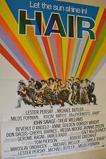 HAIR - FILMPLAKAT A1 - JOHN SAVAGE - BEVERLY DE ANGELO - AF667