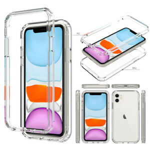 For-iPhone-11-Pro-Max-Clear-Case-Hybrid-Ultra-Slim-Shockproof-Bumper-Case-Cover