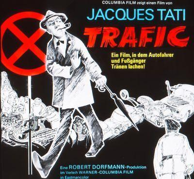 "Filmdia Kinoreklame Filmwerbung ""trafic - Jacques Tati"""
