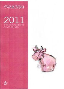 Swarovski-Artikelverzeichnis-2011-Deutschland-DIN-A4-absolut-NEU-unbenutzt-TOPP