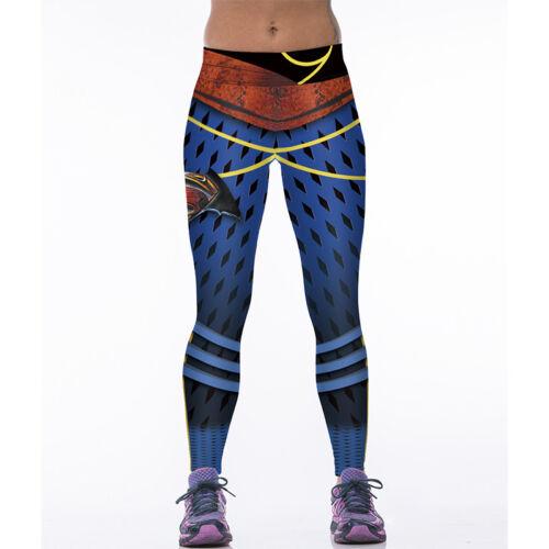Damen Sport Yoga Gym Fitness Leggings Tights Jogginghose Leggins Trainingshose S
