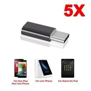 1-5pc-USB-3-1-Type-c-macho-a-micro-USB-2-0-hembra-convertidor-USB-c-adaptador-OP