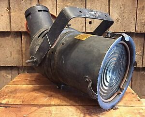 Details About Vintage Century Lighting Inc New York Theater Stage Light Lamp Spot