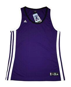 Details zu Adidas Team Sacramento Kings Violett Basketball XL Damen Trikot