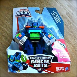 Transformers-RESCUE-BOTS-HOIST-The-TOW-BOT-PLAYSKOOL-HEROES-Hasbro-Truck-NEW-5-034