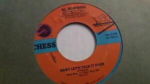 Al-Downing-I-039-ll-Be-Holding-On-45-Northern-Soul-7-034-Soul-Baby-Let-039-s-talk-it-Over