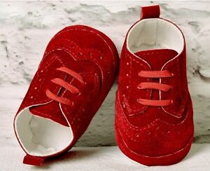 BABY BOYS FAUX LEATHER SUEDE PATENT PRAM SHOES CHRISTENING WEDDING SMART FORMAL