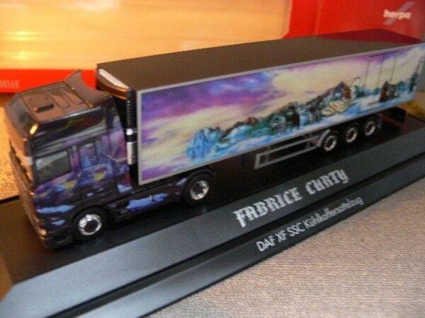 1 87 Herpa PC DAF XF SSC Fabrice CURTY autoarticolati 120586