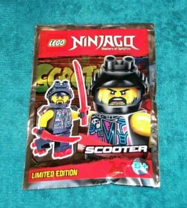 Genuine Lego Ninjago Scooter Poly bag Brand New 891836