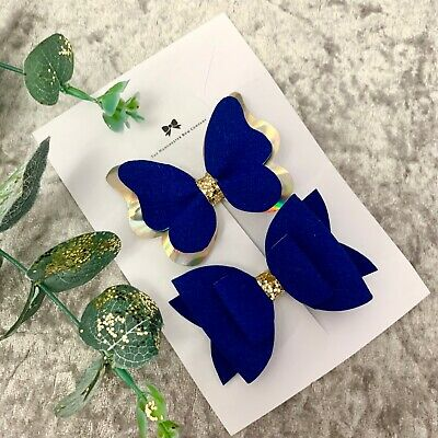 20x Vintage DIY Hair  Pin Barrettes Grips Slides Hair Accessories Butterfly