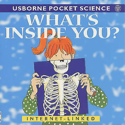 """""""AS NEW"""" Meredith, Susan, What's Inside You? (Usborne Pocket Science), Paperback"""