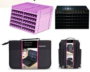 Crafters Companion Spectrum Noir 36 Pen Storage Zip Case FREE uk P/&P No Pens