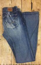 BKE Denim Starlite Stretch Jeans Womens Size 28 x 33 1/2 Medium Wash Jeans