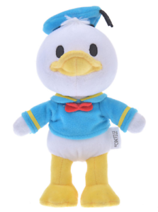 Disney Plush doll nuiMOs Donald Duck Japan import NEW