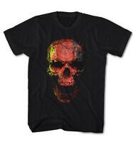 Herren T-Shirt Biker German Rock Skull Grunge Vintage Totenkopf Neu S-5XL DS216