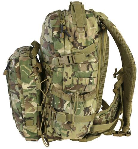 DEFENDER PACK KOMBAT 60L ARMY PATROL RUCKSACK MOLLE ASSAULT BAG BTP BACKPACK