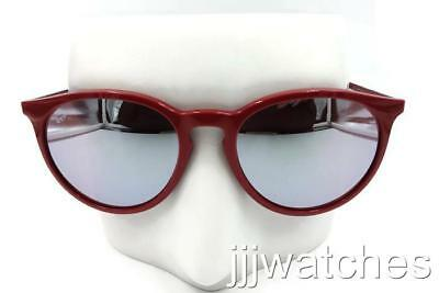 bf383e3518 Ray-Ban Erika Round Bordeaux Pink Silver Mirror Sunglasses RB4274 6261B5 53   168