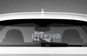 Ireland-Irish-Rugby-Car-Styling-Window-Sticker-Silver