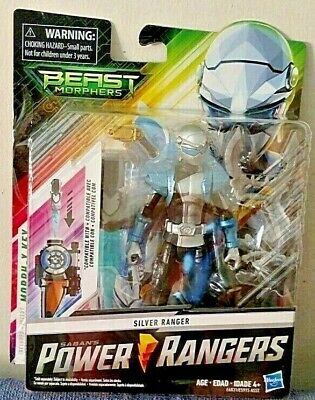 saban s 2019 power rangers beast morphers silver ranger 6 inch figure new 630509788231 ebay saban s 2019 power rangers beast morphers silver ranger 6 inch figure new 630509788231 ebay