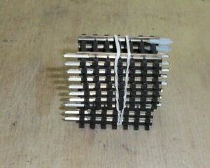 10 X Champignon Tillig G5 Coupe Droite Voie 36,5 Mm-afficher Le Titre D'origine