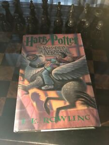 harry potter and the prisoner of azkaban first edition first printing