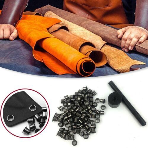 Hülle Ösen Fix Werkzeuge Fall 1set 60 Stück Nieten Holster Nagel