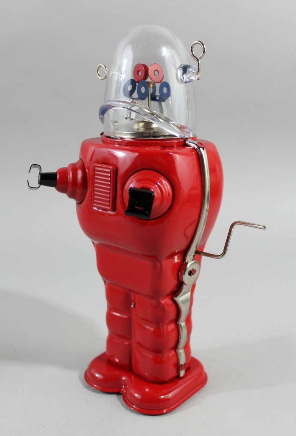 Tin Toy Robot Space Trooper Space Sheet Metal Space Elevator