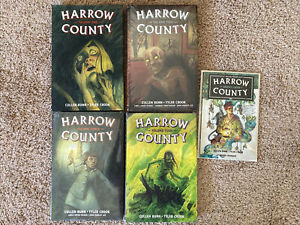 Graphic Novel Lot Harrow County Library Edition 1 NEW 2 3 4 Hardcover Omnibus TP