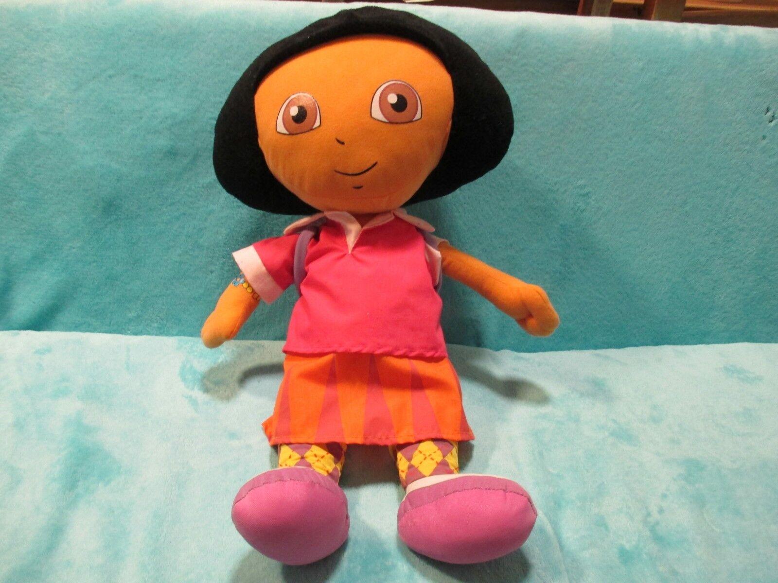2009 Play By Play Dora The Explorer - LARGE Soft Plush Jumbo Toy 19  XMAS GIFT