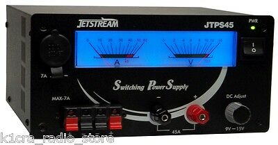 Jetstream JTPS45 - DC Switching Power Supply. Adj. 9 - 15 Volt, 40A / 45A Surge