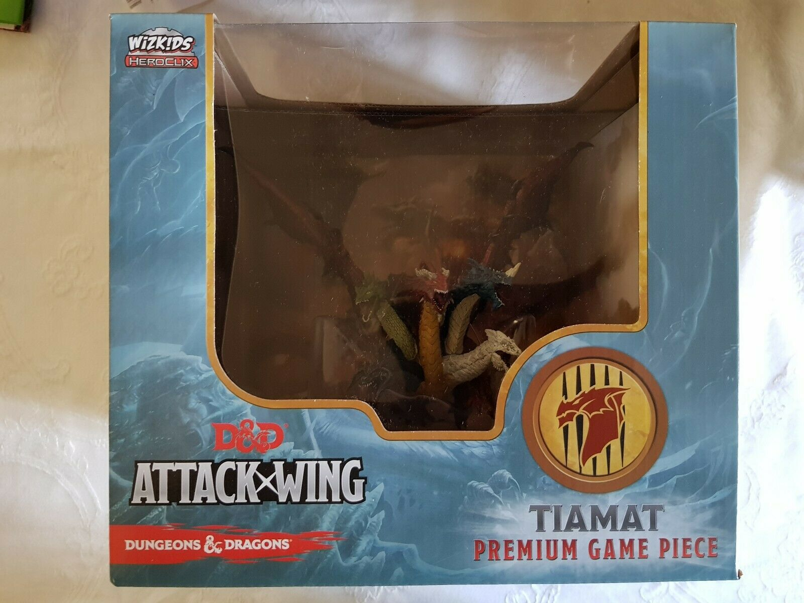 D&D Dungeons and Dragons Tiamat ataque Ala Premium En Miniatura (MINI) Sellado Nuevo