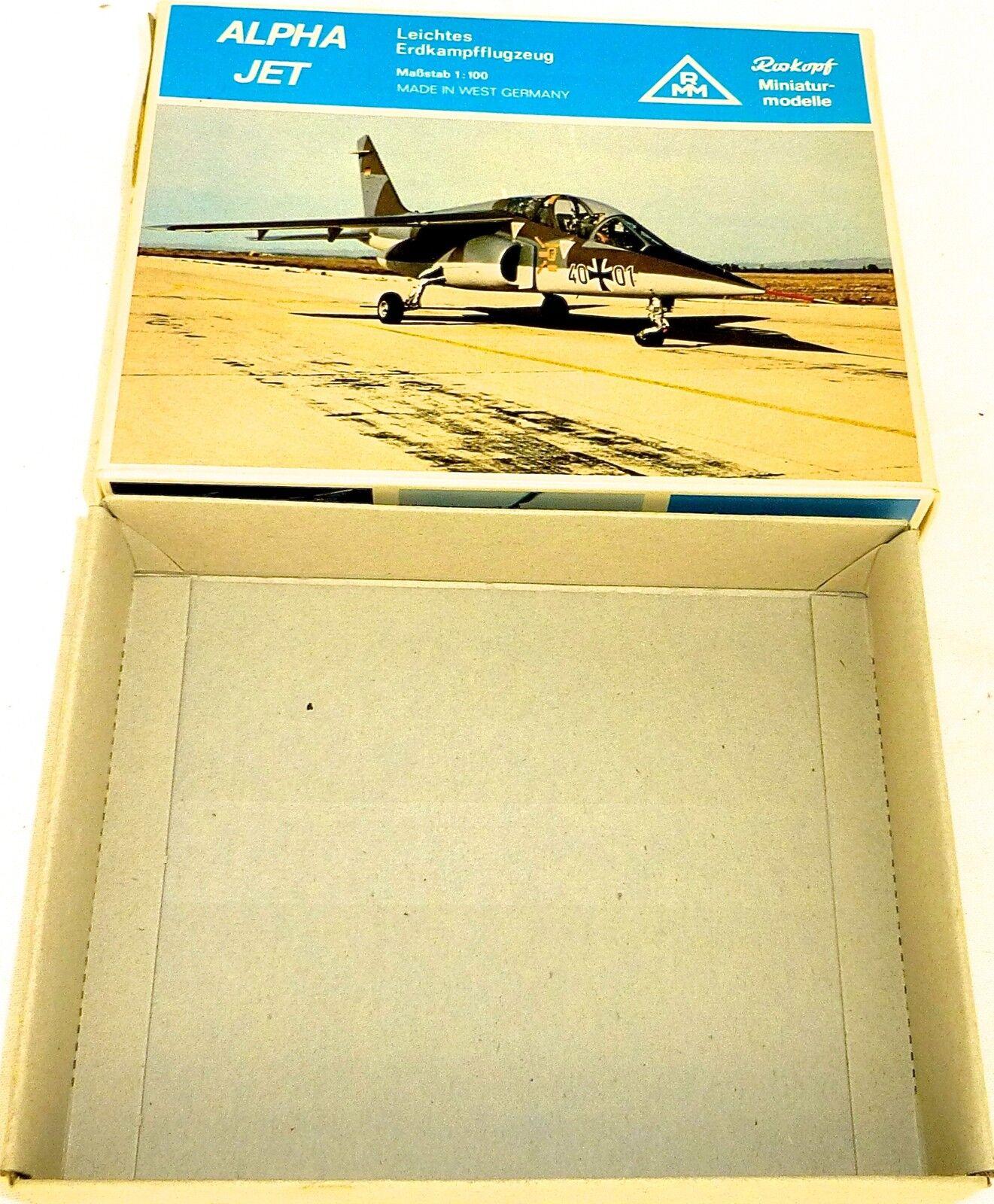 más vendido Alpha Chorro Erdkampfflugzeug Roskopf 55 Sólo el Vacio Vacio Vacio Cochetón Caja Vacía HQ4 Å  ahorra 50% -75% de descuento