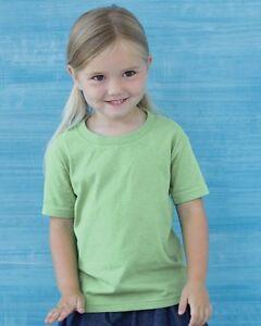 10-Blank-Gildan-Toddler-Heavy-Cotton-T-Shirt-Bulk-Lot-ok-to-mix-2T-6T-amp-Colors