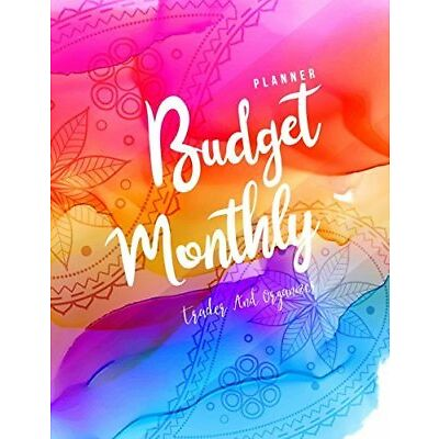 Monthly Budget Planner: Weekly & Monthly Expe by Jada Correia New Paperback Book