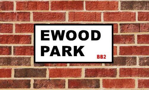 ROOM SIGN BLACKBURN ROVERS EWOOD PARK FOOTBALL CLUB SIGN GIFT XMAS GIFT DOOR