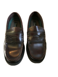 Boys Dress Shoes size 5M: Bass Burgundy Penny Loafers ...