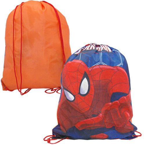 Disney Spiderman Sportbeutel Turnbeutel Sporttasche Tasche NEU