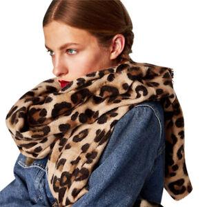 Donne-inverno-caldo-sciarpe-leopardo-sciarpa-di-lana-scialle-morbido-collo-lungo