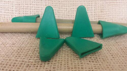 TAPPI canna di sicurezza 10 Pack protezioni in plastica da giardino Design Bambù TAPPO Fiore
